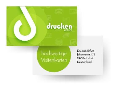 Visitenkarten Günstig Hochwertig Online Druckerei Erfurt